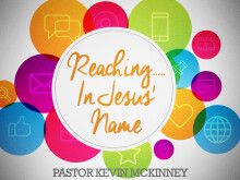 Reaching... In Jesus' Name