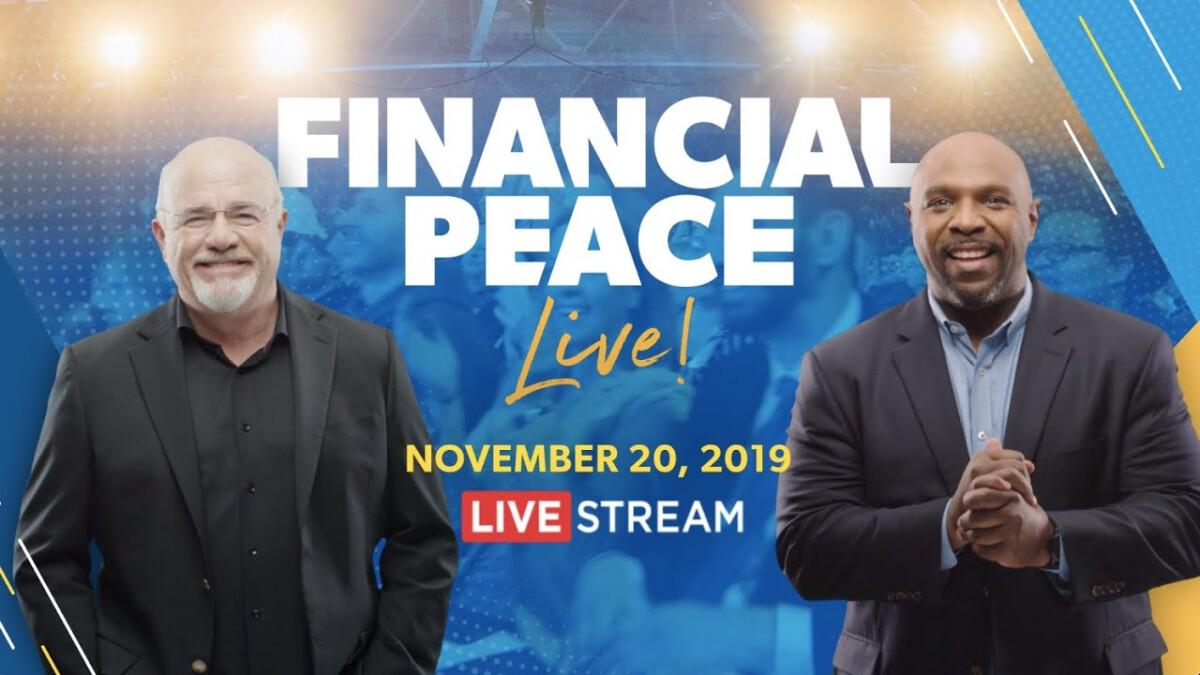 Financial Peace University Live!