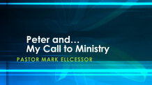 Peter And My Call To Ministry